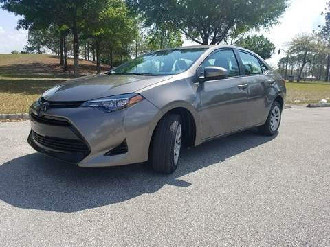 2017 Toyota Corolla for sale at All About Price in Orlando FL