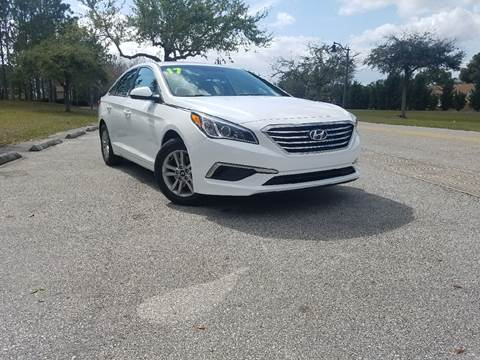 2017 Hyundai Sonata for sale at All About Price in Orlando FL