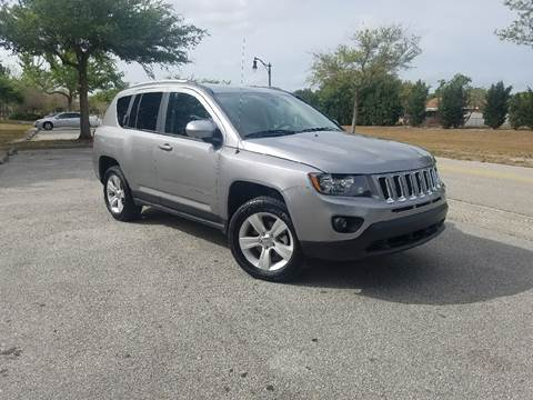 2016 Jeep Compass for sale at All About Price in Orlando FL