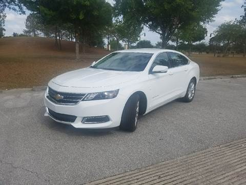2017 Chevrolet Impala for sale at All About Price in Orlando FL