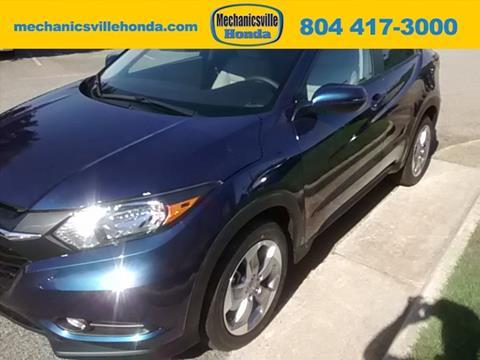 2017 Honda HR-V for sale in Mechanicsville VA