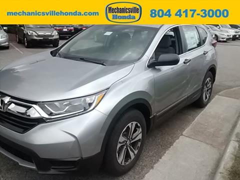 2017 Honda CR-V for sale in Mechanicsville, VA