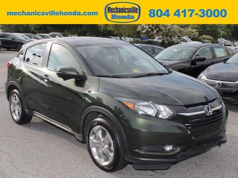 2016 Honda HR-V for sale in Mechanicsville, VA