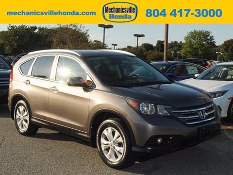 2012 Honda CR-V for sale in Mechanicsville VA