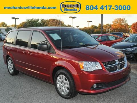 2015 Dodge Grand Caravan for sale in Mechanicsville, VA