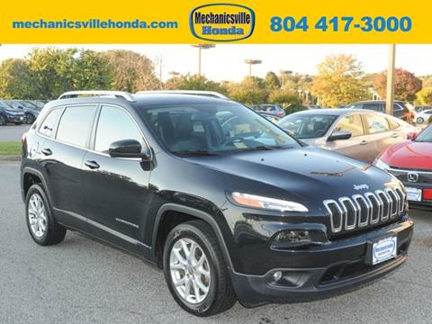 2015 Jeep Cherokee for sale in Mechanicsville, VA