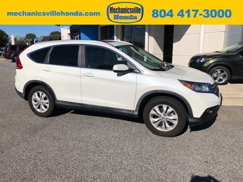 2012 Honda CR-V for sale in Mechanicsville, VA