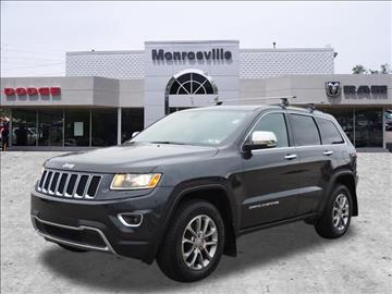 2015 Jeep Grand Cherokee for sale in Monroeville, PA