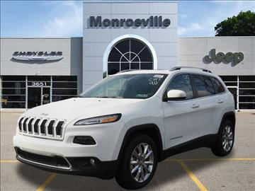 2017 Jeep Cherokee for sale in Monroeville, PA