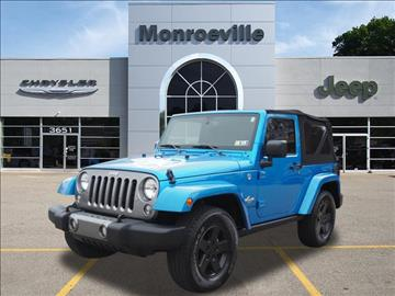 2015 Jeep Wrangler for sale in Monroeville, PA