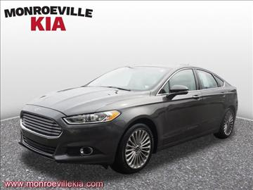 2016 Ford Fusion for sale in Monroeville, PA