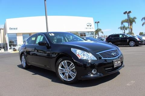 2013 Infiniti G37 Sedan for sale in Oxnard, CA