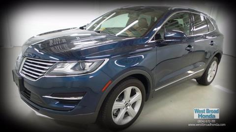 2015 Lincoln MKC for sale in Richmond, VA