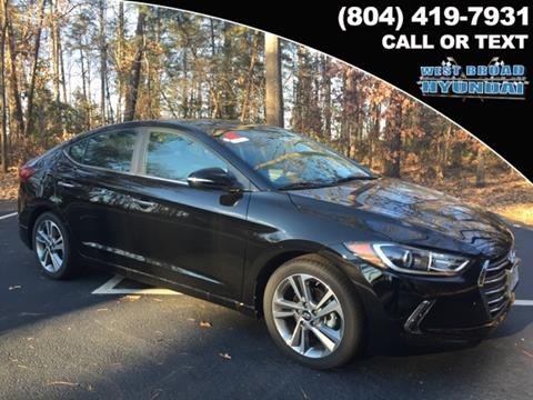 2017 Hyundai Elantra for sale in Henrico, VA