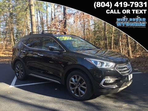 2017 Hyundai Santa Fe Sport for sale in Henrico VA