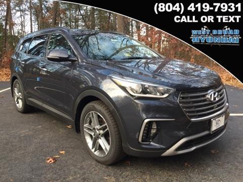 2017 Hyundai Santa Fe for sale in Henrico VA