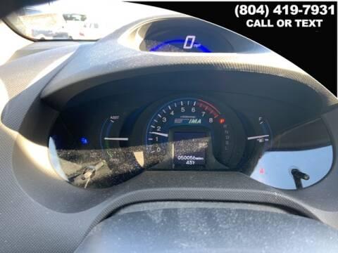 2013 Honda Insight LX for sale at West Broad Hyundai in Henrico VA