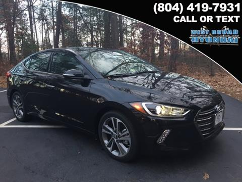 2017 Hyundai Elantra for sale in Henrico VA