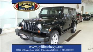 2012 Jeep Wrangler Unlimited for sale in Milwaukee, WI