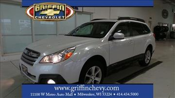 2013 Subaru Outback for sale in Milwaukee, WI