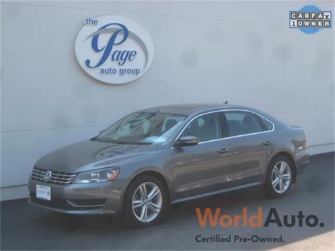 2015 Volkswagen Passat for sale in Richmond, VA
