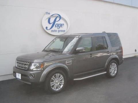 2015 Land Rover LR4 for sale in Richmond, VA
