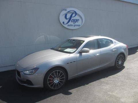 2017 Maserati Ghibli for sale in Richmond, VA