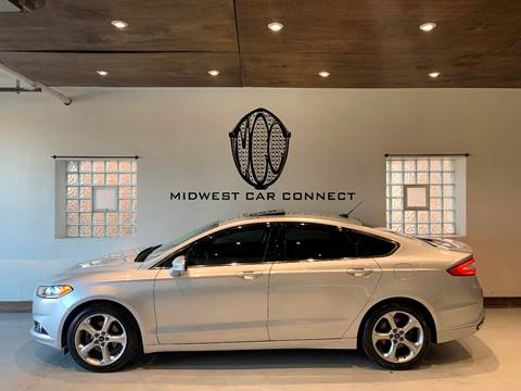 2014 Ford Fusion for sale at Midwest Car Connect in Villa Park IL