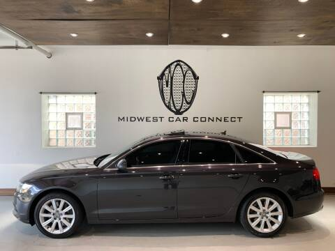 2014 Audi A6 for sale at Midwest Car Connect in Villa Park IL