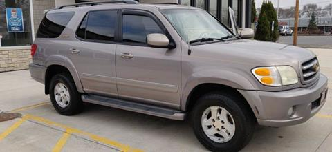 2002 Toyota Sequoia for sale at CK MOTOR CARS in Elgin IL