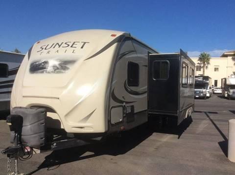 2015 Crossroads Sunset for sale at Rancho Santa Margarita RV in Rancho Santa Margarita CA
