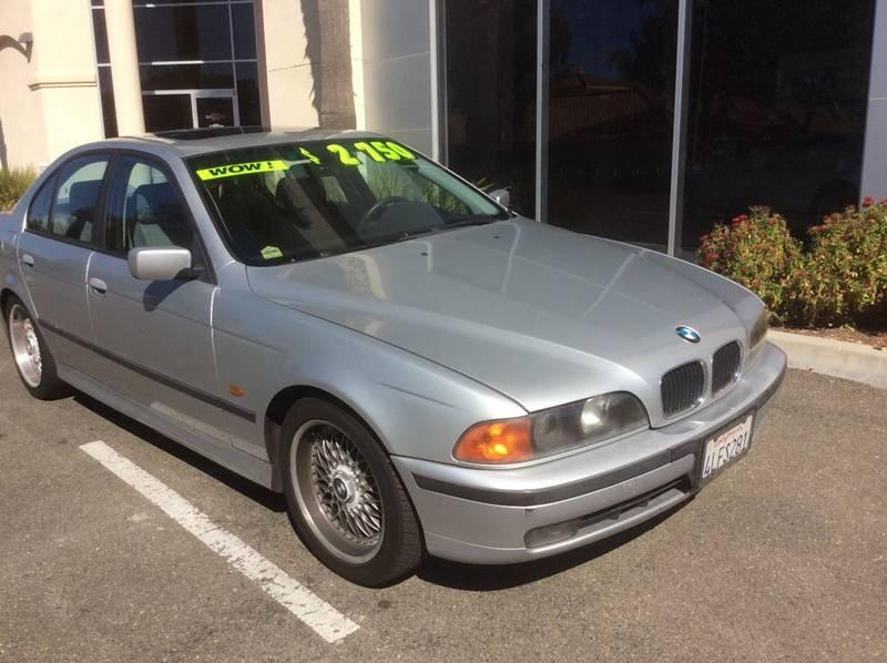 2000 BMW 5 Series for sale at Rancho Santa Margarita RV in Rancho Santa Margarita CA
