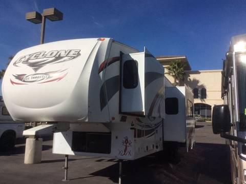 2012 Heartland Cyclone M-3010 for sale at Rancho Santa Margarita RV in Rancho Santa Margarita CA
