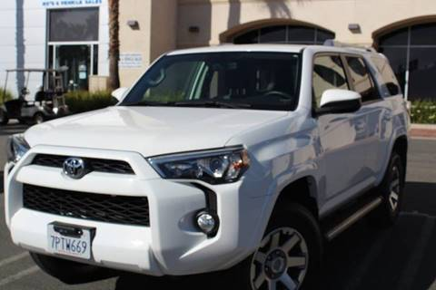 2016 Toyota 4 Runner SR5 for sale at Rancho Santa Margarita RV in Rancho Santa Margarita CA