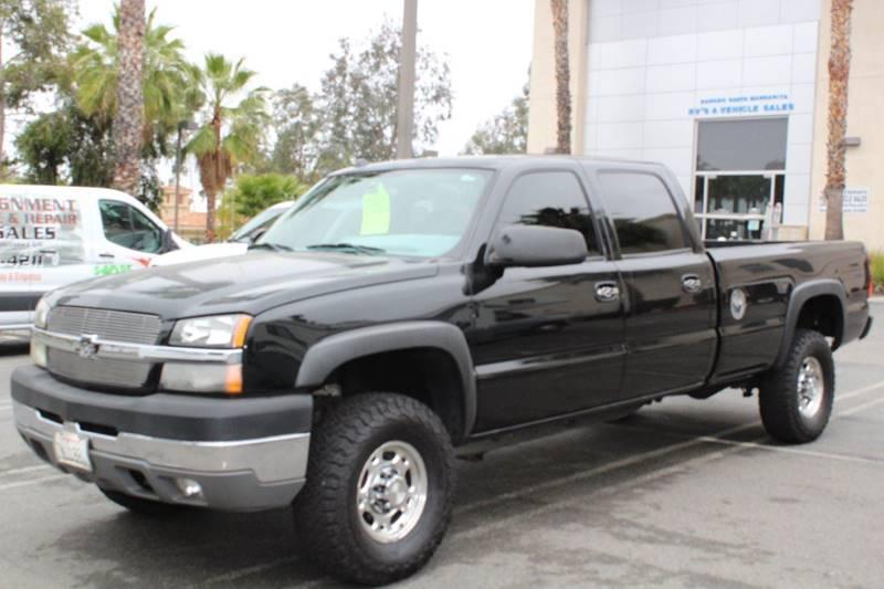 2004 Chevrolet Silverado 2500 for sale at Rancho Santa Margarita RV in Rancho Santa Margarita CA