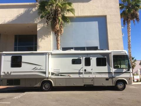 2002 Winnebago Adventurer for sale at Rancho Santa Margarita RV in Rancho Santa Margarita CA