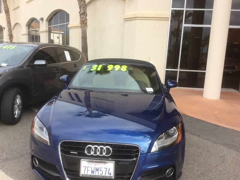 2015 Audi Audi TT 2.0T Roadster for sale at Rancho Santa Margarita RV in Rancho Santa Margarita CA