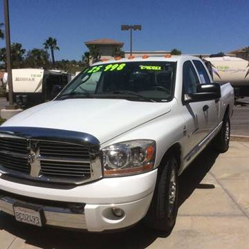 2006 Dodge Diesel Ram 3500 for sale at Rancho Santa Margarita RV in Rancho Santa Margarita CA
