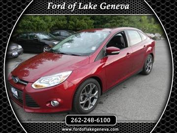 2014 Ford Focus for sale in Lake Geneva, WI