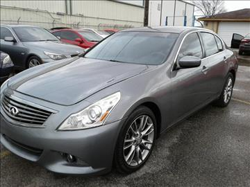 2011 Infiniti G25 Sedan for sale in Stafford, TX