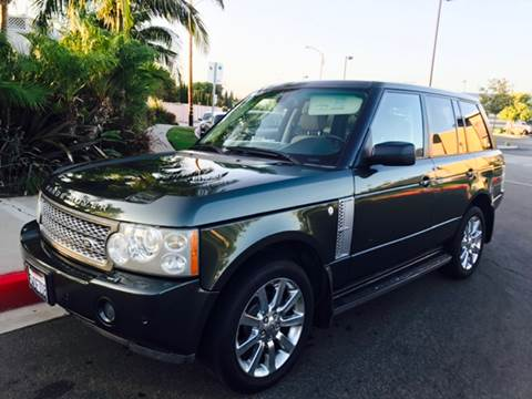 2006 Land Rover Range Rover for sale at SUMMER AUTO FINANCE in Costa Mesa CA