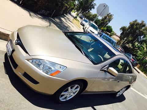 2004 Honda Accord for sale at SUMMER AUTO FINANCE in Costa Mesa CA