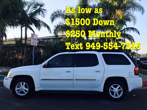 2002 GMC Envoy XL for sale at SUMMER AUTO FINANCE in Costa Mesa CA