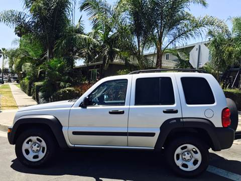 2002 Jeep Liberty for sale at SUMMER AUTO FINANCE in Costa Mesa CA