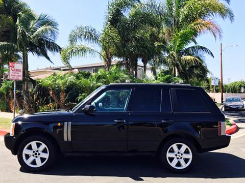 2003 Land Rover Range Rover for sale at SUMMER AUTO FINANCE in Costa Mesa CA