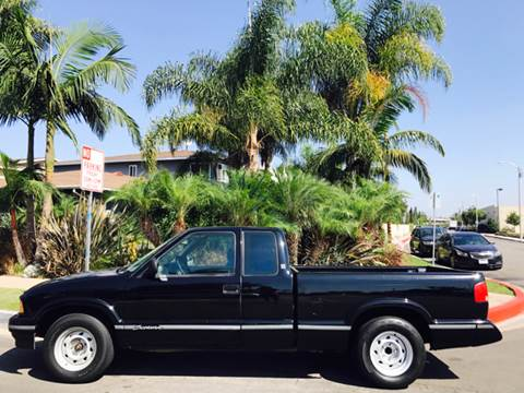 1996 GMC Sonoma for sale at SUMMER AUTO FINANCE in Costa Mesa CA