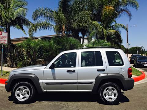 2003 Jeep Liberty for sale at SUMMER AUTO FINANCE in Costa Mesa CA