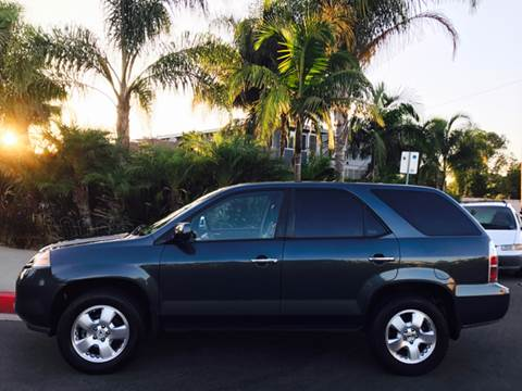 2006 Acura MDX for sale at SUMMER AUTO FINANCE in Costa Mesa CA
