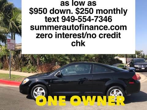 2008 Pontiac G5 for sale in Costa Mesa, CA