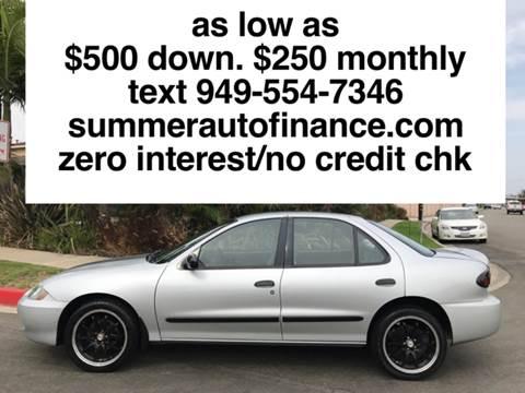 2005 Chevrolet Cavalier for sale in Costa Mesa, CA